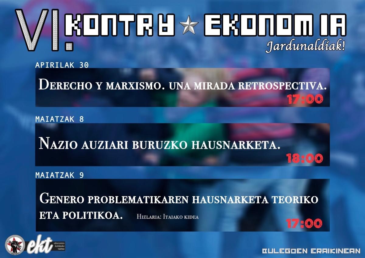Badatoz VI. Kontraekonomiajardunaldiak!!